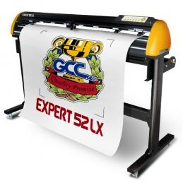 Řezací plotr GCC Expert II 52 (132 cm) LX s optikou + řezací software GCC Greatcut