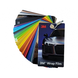 Vzorkovník 3M Wrap Film