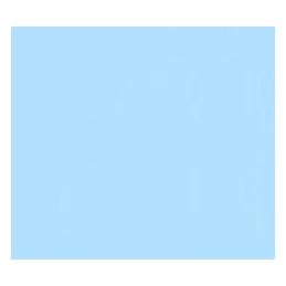 POLI-FLEX PREMIUM 465 Sky Blue šířka 0.5m